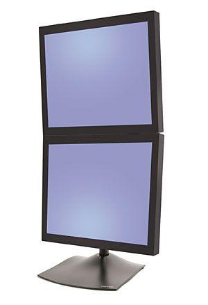 ERGOTRON DS100 Double Monitor-vertikální stojan pro 2 LCD
