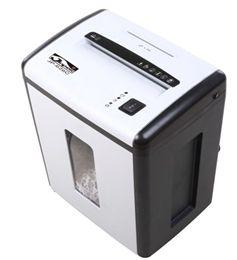 Skartovací stroj AT-15S řez 4mm, koš 22l, až 14 listů A4 70g, CD, karty i sponky