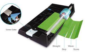 Řezačka papíru TM 20 A4 5 v 1 , lze i perforovat, bigovat, rovný i vlnkový řez