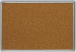 Korková tabule 90x120 cm, rám ALU23