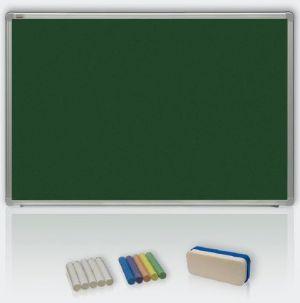 Magnetická tabule 120x90 - křída, ALU23