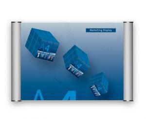 Dveřní a informační tabulka A5 - 210x148mm - cedulka formát A5 - síla profilu 25 mm
