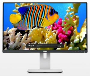 "DELL UltraSHARP U2414H 24"" wide/8ms/1000:1/1920x1080/DP/2xHDMI/USB/IPS panel/cerny"