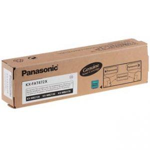 PANASONIC originální toner KX-FAT472X, black, 2000str., PANASONIC KX-MB2120, KX-MB2130, KX