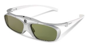 ACER 3D glasses E4w White/Silver 144Hz, 30h, 32g
