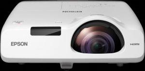 Projektor EPSON 3LCD/3chip projektor EB-520 1024x768 XGA/2700 ANSI/16000:1/HDMI/LAN/1x16W