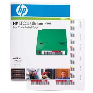 HP Ultrium LTO 4 RW Štítky s čárovým kódem, GB GB, Q2009A , sada štítků s čárovými kódy