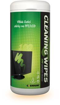 Vlhčené čistící utěrky na LCD - 100ks