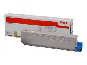 OKI originální toner černý black, 7000str., OKI MC853, MC73