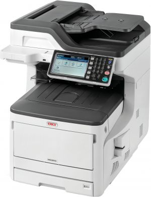 OKI MC853dn A3 23/23 ppm ProQ2400 dpi PCL6/PS3,USB 2.0,LAN (Print/Scan/Copy/Fax)