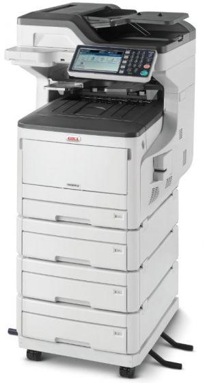 OKI MC853dnv A3 barevná LED multifunkční tiskárna 4v1 + 3x500 stran kazety na papír