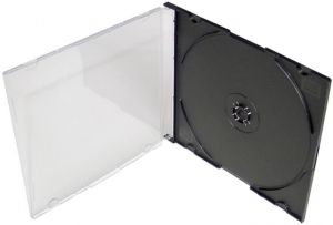 Slimbox na CD - černý tray - 5,2 mm