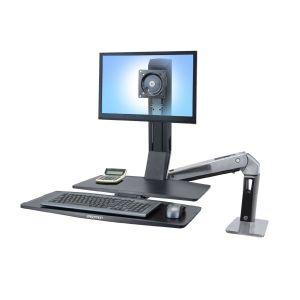 """ERGOTRON WorkFit-A II , LD , 5"""" Lift , nastavitelný stolní držák pro monitor"""