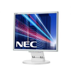 """Monitor NEC 17"""" E171M - 1280x1024, TN, W-LED, 250cd, D-sub, DVI, Repro, stříbrno-bílý"""