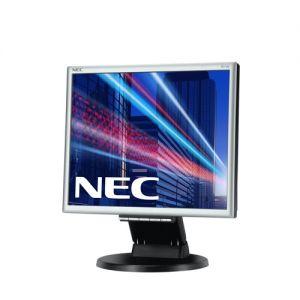 """Monitor NEC 17"""" E171M - 1280x1024, TN, W-LED, 250cd, D-sub, DVI, Repro, stříbrno-černý"""