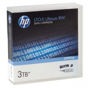 HP Ultrium RW LTO 5 , 1100 ( 1,1 TB )/GB 3000 ( 3 TB ) GB, labeled , světle modrá C7975AL