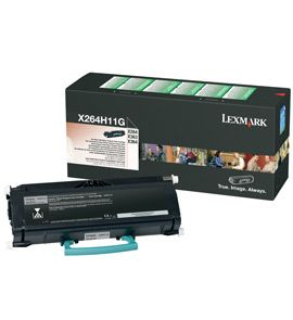 LEXMARK tisková náplň X264 X36X 9K Return Program Toner Cartridge