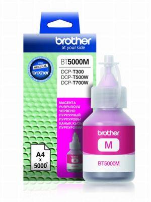 BROTHER BT-5000M originální inkous červený/magenta 5000str., BROTHER DCP T300 T500W T700W