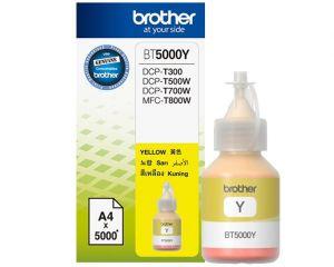 BROTHER BT-5000Y originální inkoust žlutý/yellow 5000str., BROTHER DCP T300 T500W T700W