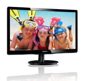 "PHILIPS LCD 200V4QSBR 19,5""wide/1920x1080/8ms/10mil:1/DVI/LED/MVA"