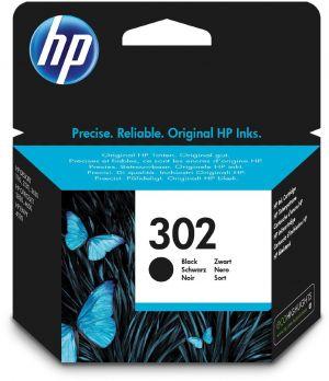 HP černá ink. cartridge No.302 black, 190str., 3.5ml, HP Officejet 3830