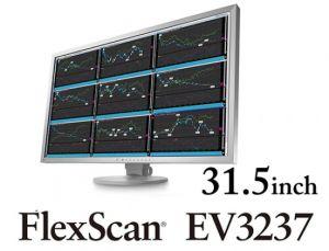"""Monitor EIZO 31,5"""" EV3237-GY, IPS-LED, 4K UHD, 300 cd/m2, 1000:1, 2x DP, DVI, HDMI, šedý"""