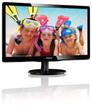 "Monitor PHILIPS LCD 220V4LSB 22"" wide/1680x1050/5ms/10mil:1/DVI/LED"