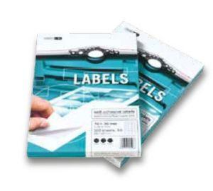 Samolepicí etikety 100 listů ( 44 etiket na listu 48,5 x 25,4 mm) 140g/m2 universální