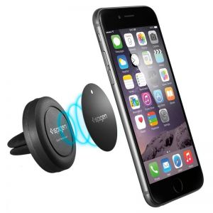 Držák mobilu do auta - SPIGEN Air Vent Magnetic Car Mount Holder