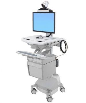 ERGOTRON StyleViewR Telemedicine Cart Single Monitor , Powered, pojízdný vozík s napájením