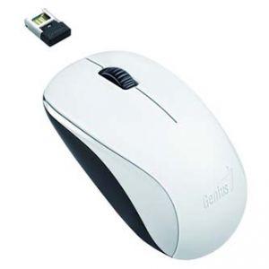 GENIUS Myš NX-7000 bezdrátová optická , 3tl., 1 kolečko, USB, bílá 1200dpi univerzální