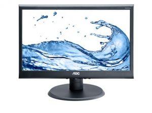 "AOC LCD E970SWN 18,5""wide/1366x768/5ms/20mil:1/VGA/LED"