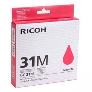 RICOH originální ink 405690 Typ GC 31M magenta, RICOH GXe2600N GXe3000N GXe3300N GXe3350