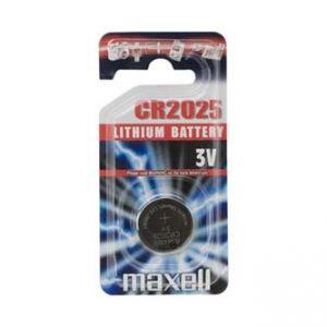 baterie Lithiová CR2025 3V , Maxell, blistr, 1-pack