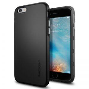 SPIGEN Thin Fit Hybrid , black - tenký, elegantní pro APPLE iPhone 6 / 6s