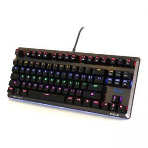 E-BLUE Klávesnice Mazer Mechanical FPS, herní, černá, drátová (USB), US, mechanická, podsv