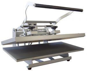 Velkoformátový tepelný lis 50 x 100 cm - transférový tisk