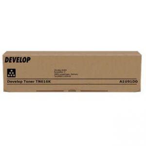 DEVELOP originální toner A1U91D0, black, 41500str., TN616K, DEVELOP Ineo +6000, +7000