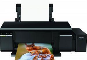 EPSON L805 tiskárna A4 37-38ppm 6ink potisk DVD, Wi-Fi, CISS inktank