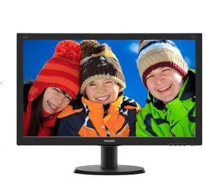 "PHILIPS LCD 240V5QDAB/00 23,8"" wide ADS-IPS/1920x1080/20M:1/5ms/250 cd/VGA/DVI-D/HDMI/Repr"