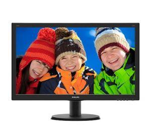 """PHILIPS LCD 240V5QDSB/00 23,8"""" wide ADS-IPS/1920x1080/20M:1/5ms/250 cd/VGA/DVI-D/HDMI/VESA"""