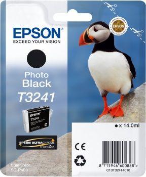 EPSON originální ink C13T32414010, photo black, 14ml, EPSON SureColor SC-P400