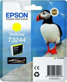 EPSON originální ink C13T32444010, yellow, 14ml, EPSON SureColor SC-P400