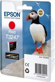 EPSON originální ink C13T32474010, red, 14ml, EPSON SureColor SC-P400