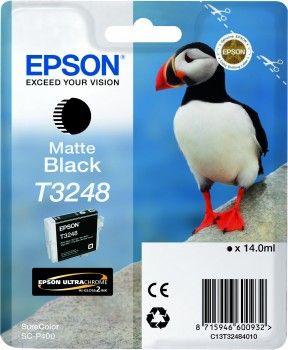 EPSON originální ink C13T32484010, matt black, 14ml, EPSON SureColor SC-P400