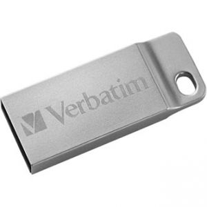 VERBATIM USB flash disk, 2.0, 64GB, Store,N,Go Metal Executive, stříbrný, 98750