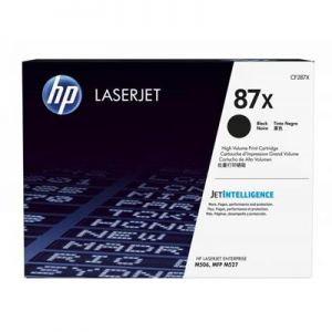 HP toner CF287XC, black, 18000str., HP LaserJet Enterprise Flow MFP M527, M506, MFP M527