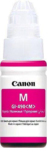 CANON originální ink GI-490 M magenta, 7000str., 70ml, 0665C001, CANON PIXMA G1400, G2400