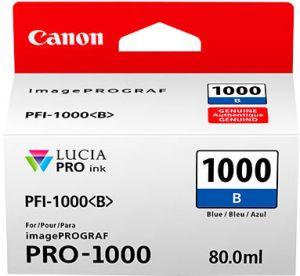 CANON orig. cartridge PFI-1000 B Blue Ink Tank