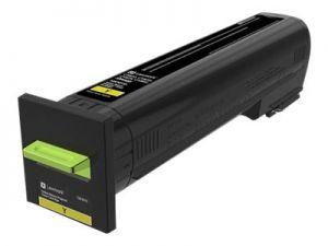 CS820, CX82x, CX860 Yellow Return Programme Toner Cartridge - 8 000 stran